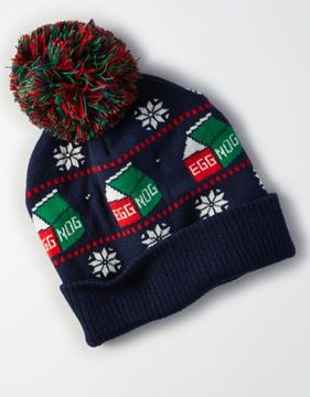 American Eagle Outfitters AE Light Up Egg Nog Beanie
