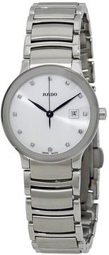 Rado Centrix Silver Diamond Dial Ladies Watch