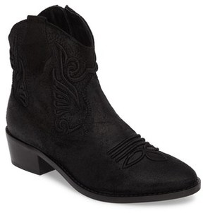 Topshop Women's Apple Crumble Embroidered Bootie
