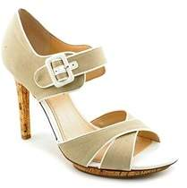 Marc Fisher Womens Kali Canvas Open Toe Special Occasion Ankle Strap Sandals.