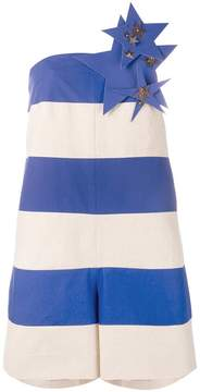 DELPOZO star and stripe playsuit