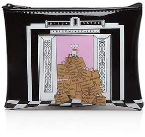 Bloomingdale's Dog/Elevator Cosmetic Case - 100% Exclusive