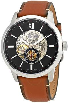 Fossil Townsman Automatic Skeleton Dial Men's Watch