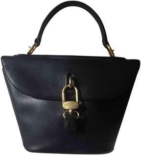 Delvaux Blue Leather Handbag