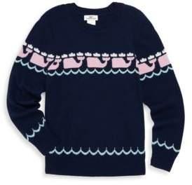 Vineyard Vines Toddler's, Little Girl's & Girl's Multi Whale Sweater