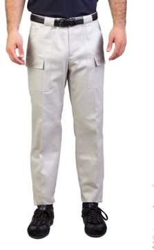Christian Dior Men's Straight Fit Cargo Dress Pants Taupe