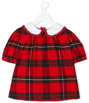 Dolce & Gabbana check blouse
