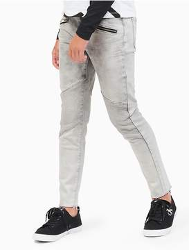 Calvin Klein Jeans Girls Ultimate Skinny Zip Jeans