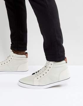 Call it SPRING Seymard Hi Top Sneakers In Ice