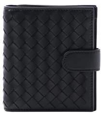 Bottega Veneta Women's Black Leather Wallet.