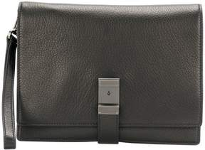 Prada classic buckled clutch bag
