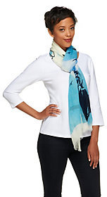 Collection XIIX Collection 18 Fly Printed Scarf