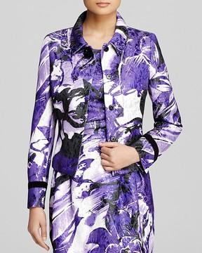 Basler Jacket - Metallic Floral