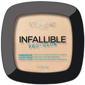 L'Oreal Infallible Pro Glow Face Powder - 0.31oz.