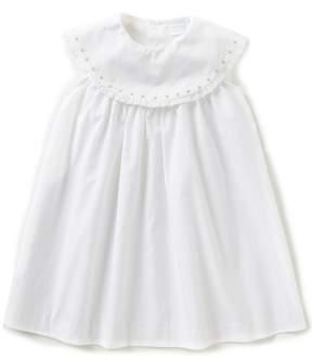 Edgehill Collection Little Girls 2T-4T Embroidered Sleeveless Dress