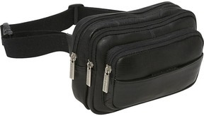 Le Donne LeDonne Leather Fanny Pack or Waist Bag - Tri Zip