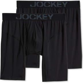 Jockey Men's 2-Pk. RapidCool Midway Boxer Briefs