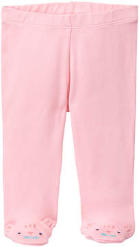 Gymboree Pink Tiger Embroidery Footie Pants - Infant