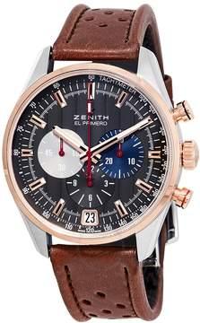 Zenith El Primero Chronograph Automatic Grey Dial Men's Watch
