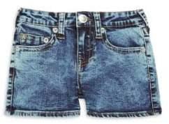 True Religion Girl's Casual Denim Shorts