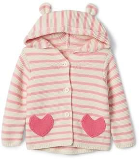 Gap Heart Garter Hoodie Sweater