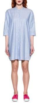Bagutta Women's Light Blue Linen Dress.