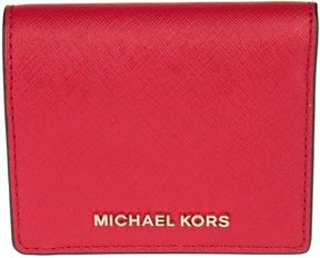 MICHAEL Michael Kors Jet Set Travel Wallet - BRIGHT RED - STYLE