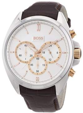 HUGO BOSS Men's Brown Driver Chronograph Watch 1512881