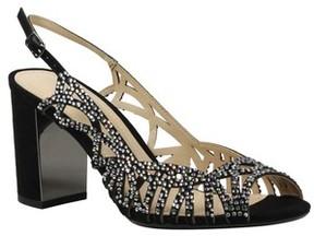 J. Renee Women's Tahira Embellished Cutout Sandal