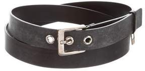 Gucci Leather Buckle Belt