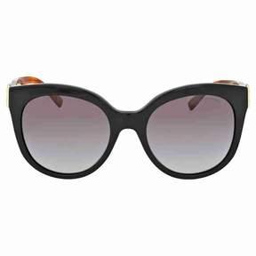 Burberry Grey Gradient Acetate Cat Eye Sunglasses