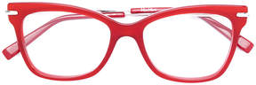 Max Mara square frame glasses
