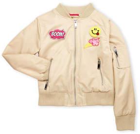 Urban Republic Girls 7-16) Patchwork Bomber Jacket