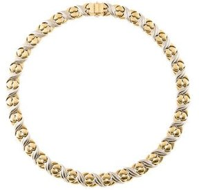 Chimento 18K Two-Tone Collar Necklace