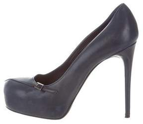 Nina Ricci Leather Platform Pumps