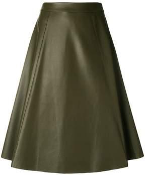Drome midi flared skirt