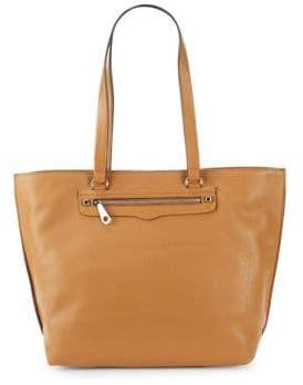 Rebecca Minkoff Regan Leather Tote - CAMEL - STYLE