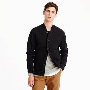 J.Crew French terry bomber jacket