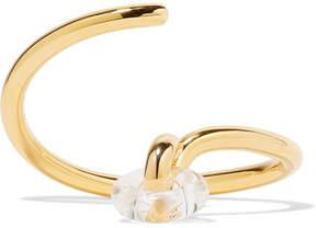 Charlotte Chesnais Swing Gold Vermeil And Glass Bracelet