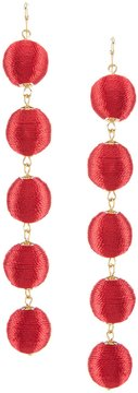 Anna & Ava Stephanie Ball Drop Statement Earrings