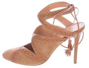 Alexa Wagner Macy Lace-Up Pumps w/ Tags