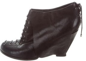 Camilla Skovgaard Leather Lace-Up Ankle Boots