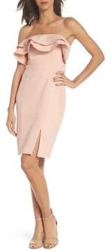 Adelyn Rae Issa Strapless Dress