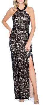 Decode 1.8 Sequin Floor-Length Gown