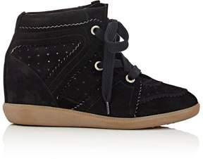 Isabel Marant Women's Bobby Wedge Sneakers