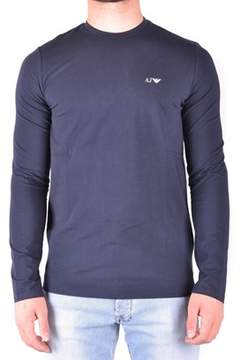 Armani Jeans Men's Blue Cotton T-shirt.