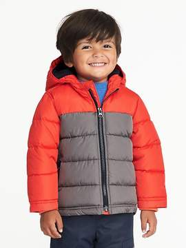 Old Navy Color-Blocked Frost-Free Hooded Jacket for Toddler Boys