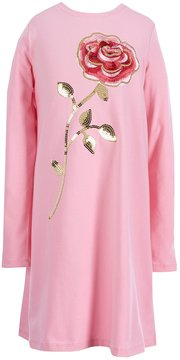 Kate Spade Big Girls 7-14 Rose-Embroidered Dress
