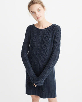 Abercrombie & Fitch Garment Dye Sweater Dress