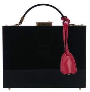 Mark Cross Small Grace Plexi Box Bag